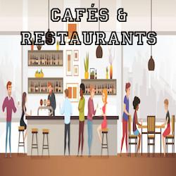 cafés - restaurants